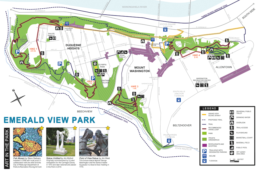 Emerald View Park Map